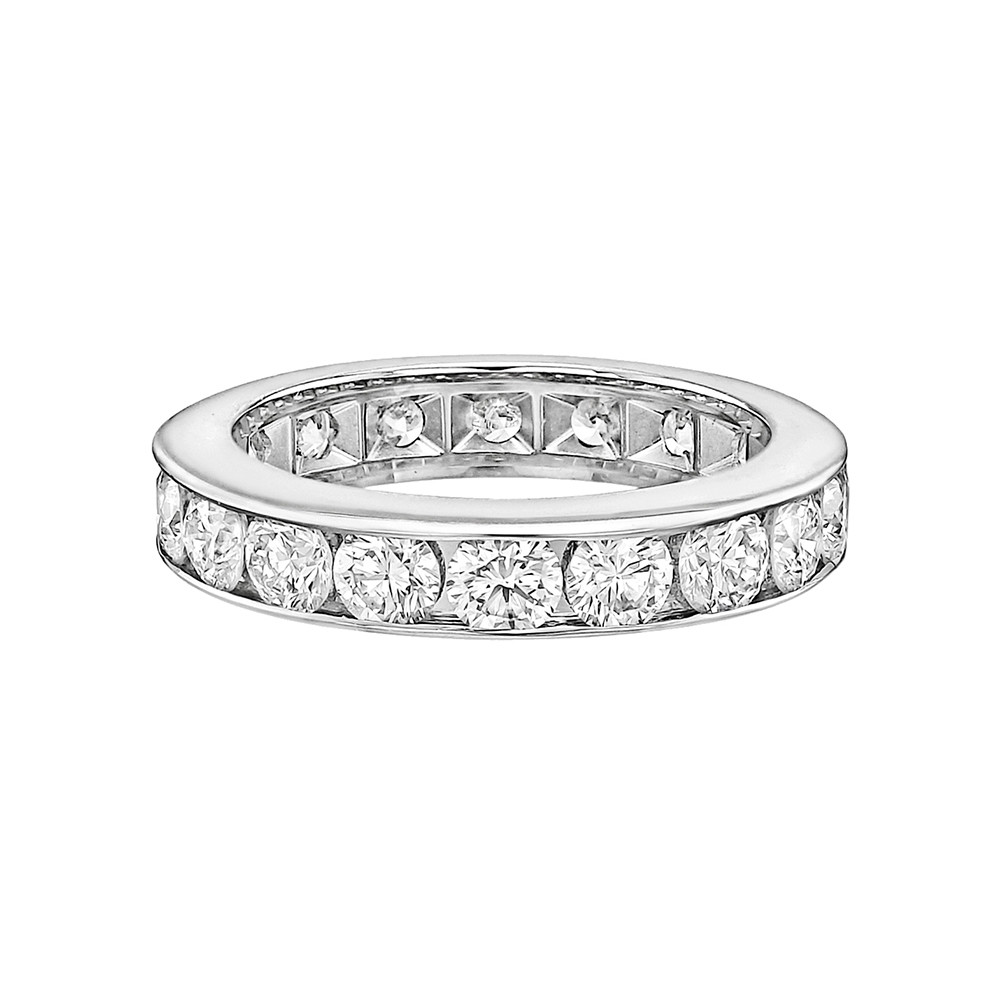 Channel-Set Diamond Eternity Band (2.70ct tw)