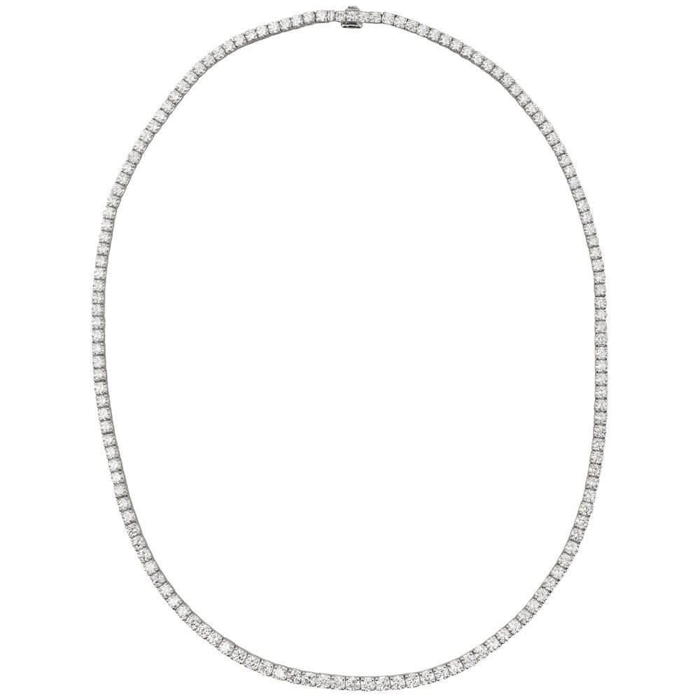 Classic Diamond Line Necklace (8.88ct tw)