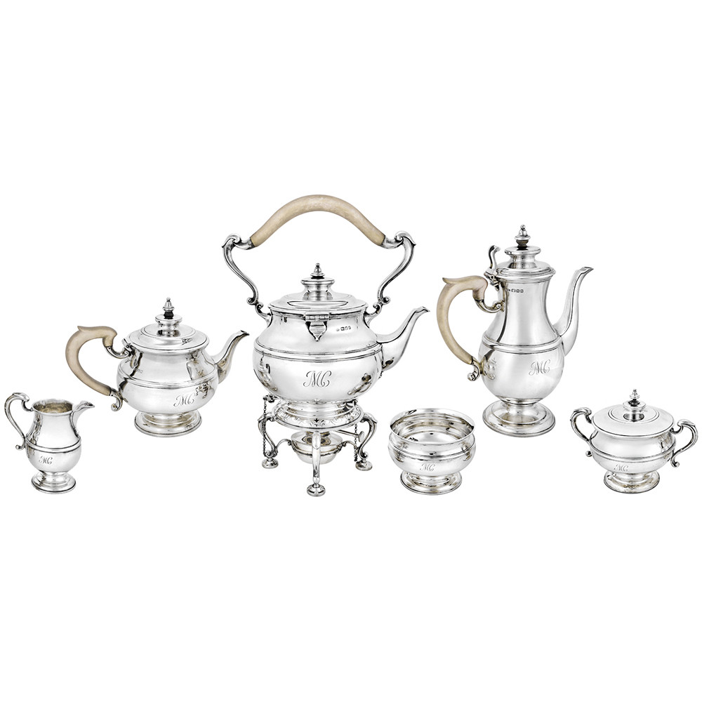 George V 6-Piece Silver Tea & Coffee Service