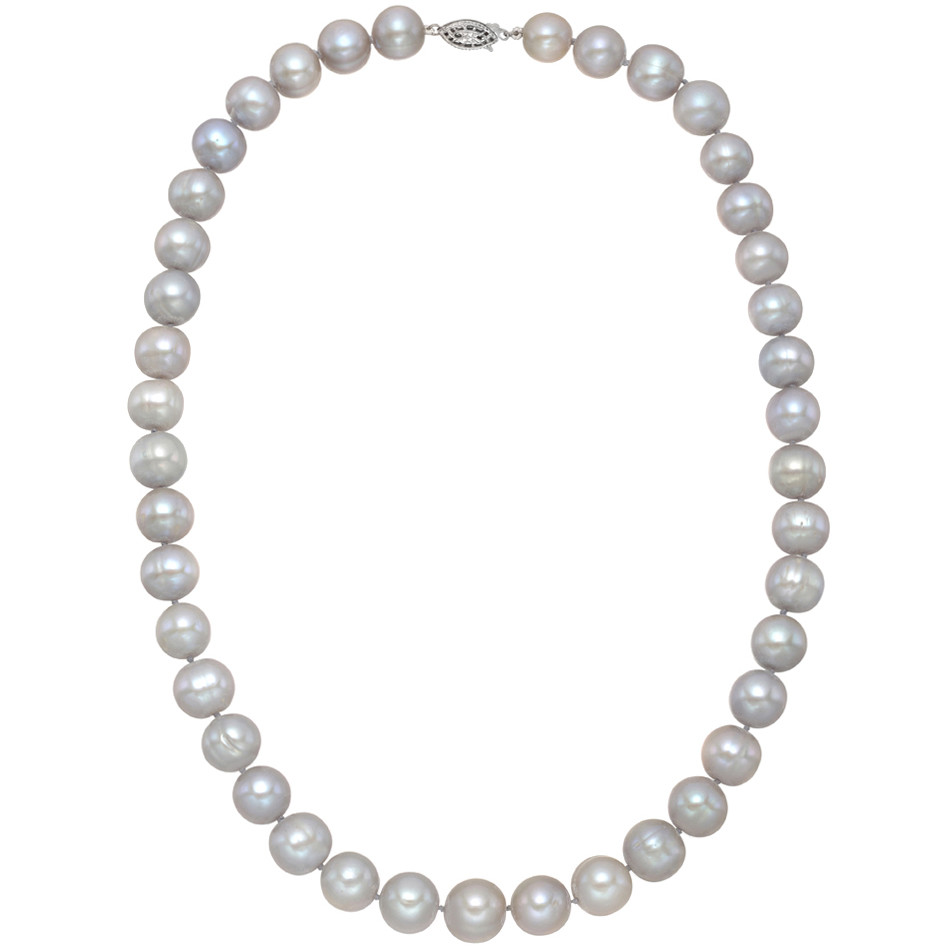 Graduated Cultured Tahitian Pearl Necklace