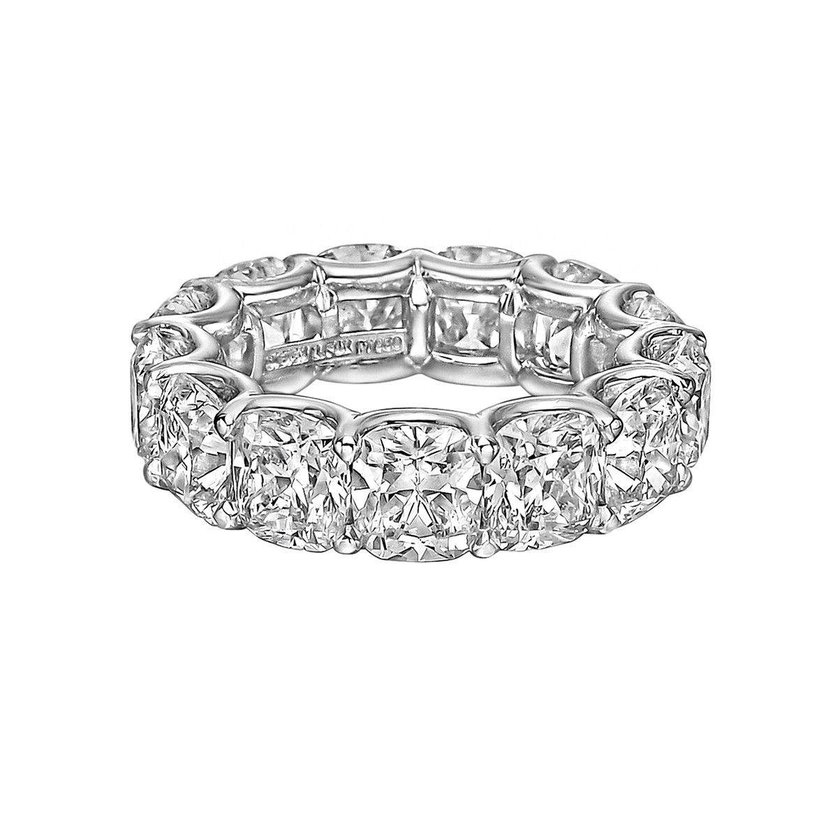 Cushion-Cut Diamond Eternity Band (11.17tcw)