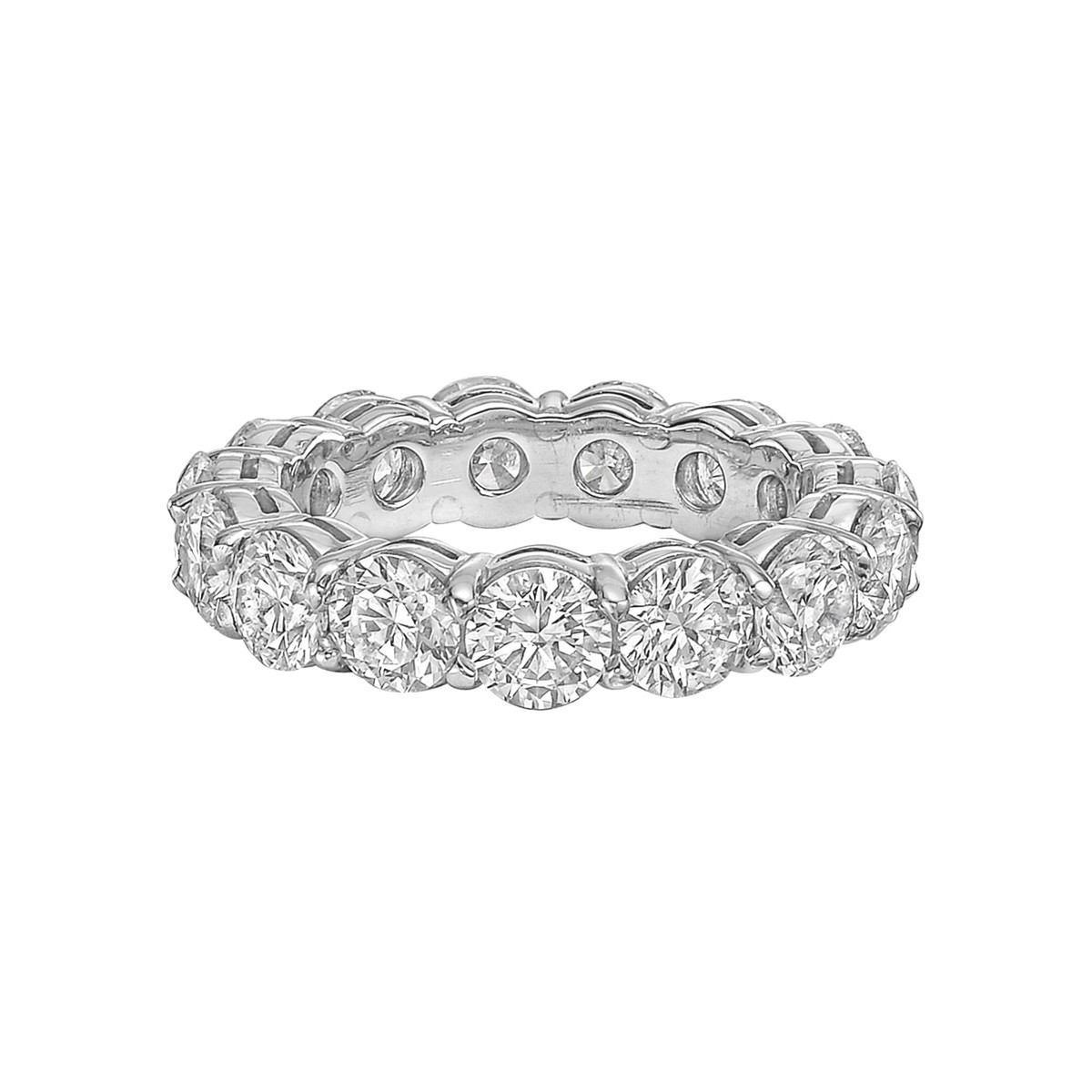 Round Brilliant Diamond Eternity Band (2.85ct tw)