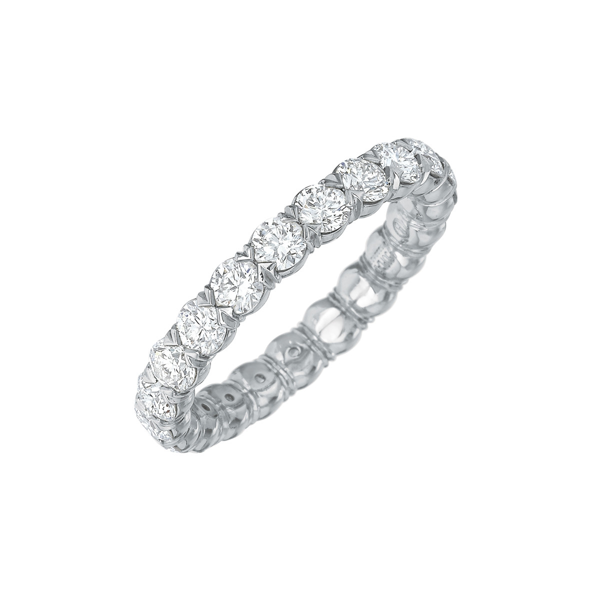 Round Brilliant Diamond Eternity Band (2.00ct tw)