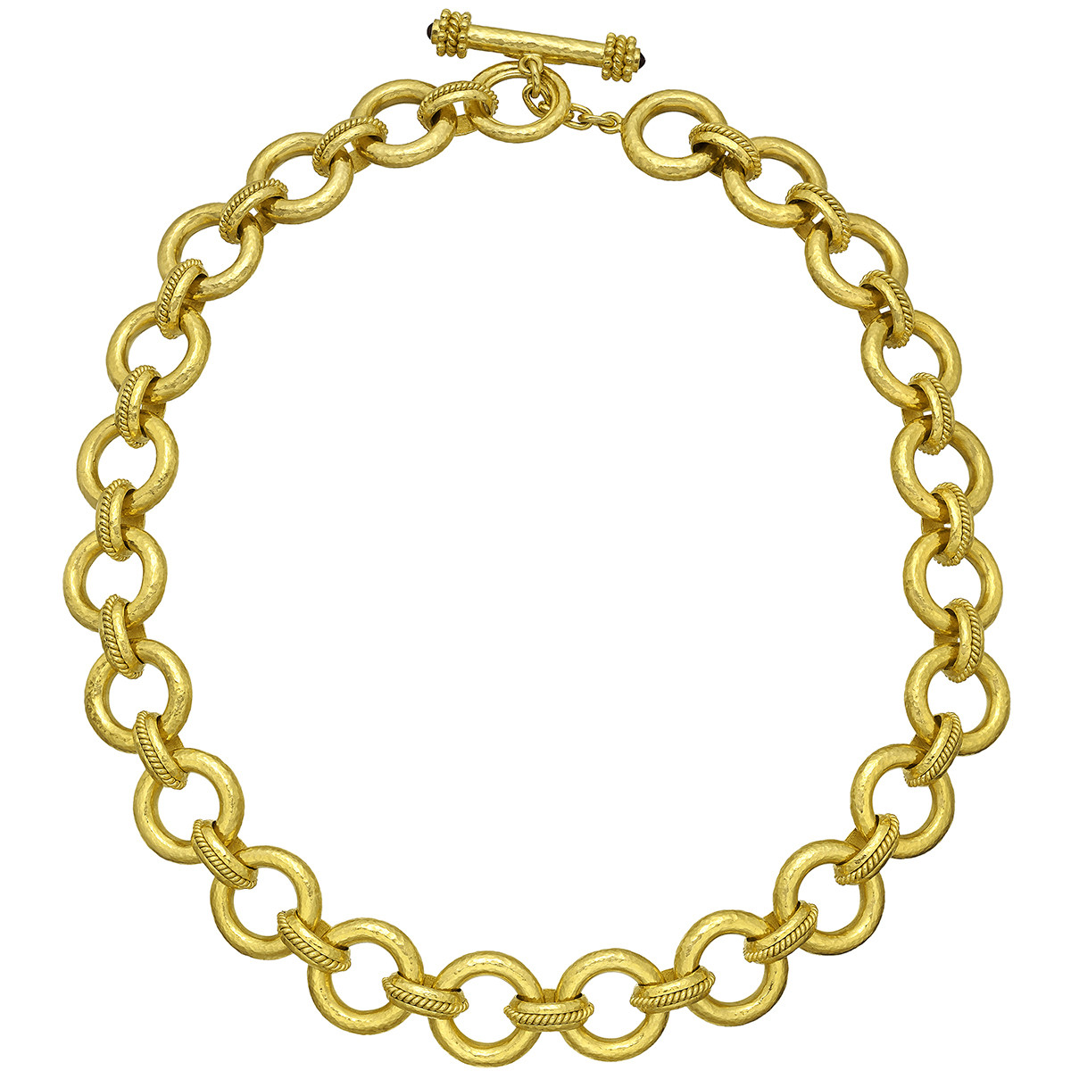 "19k Yellow Gold ""Ravenna"" Link Necklace"