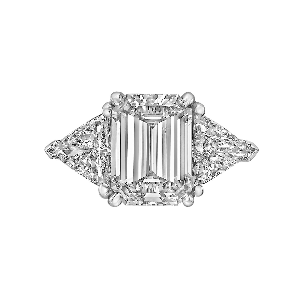 3.93ct Emerald-Cut Diamond Ring (G/VS2)