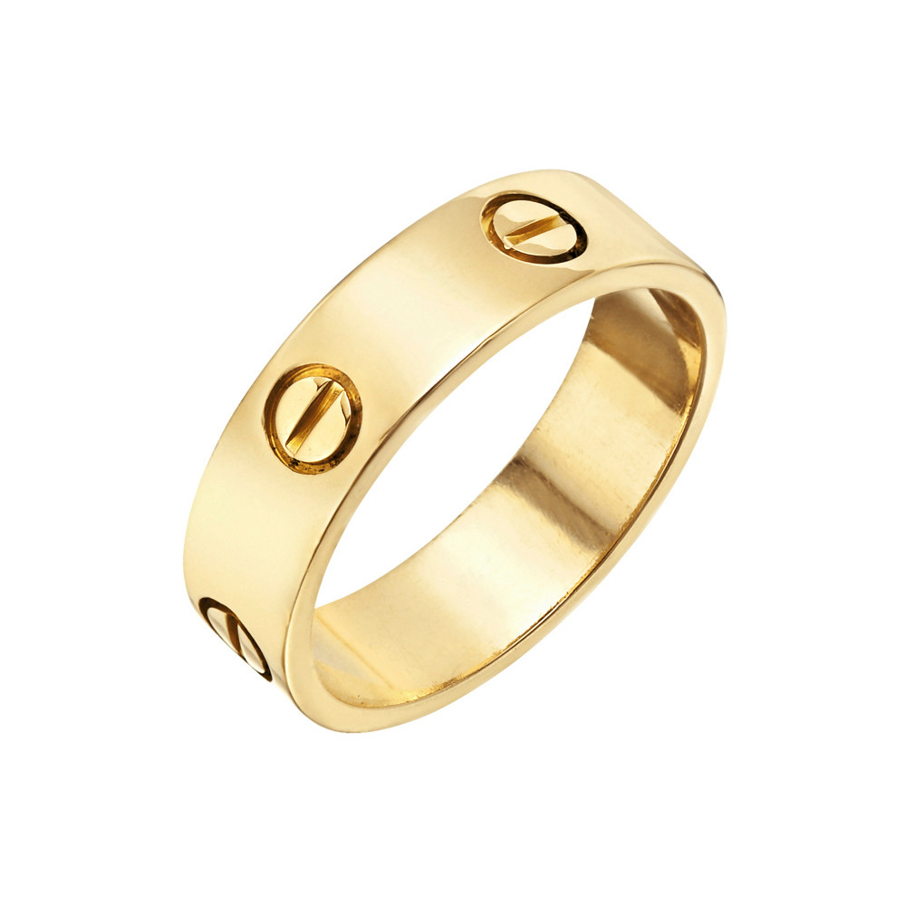 "Estate Cartier Men's 18k Gold ""Love"" Wedding Band 