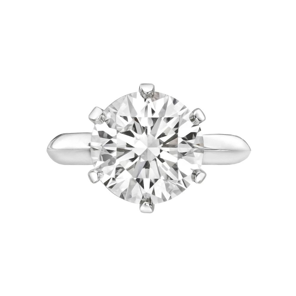 diamond estate with baguettes flower ring upon products a once platinum in