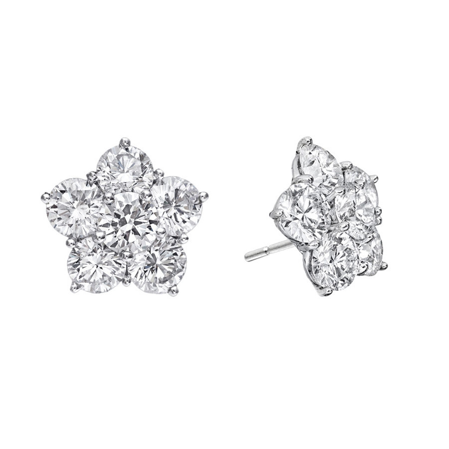 "Extra Large Diamond ""Astra"" Earrings (8.44ct tw)"