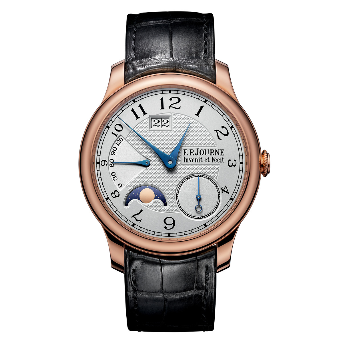 Octa Automatique Lune Rose Gold