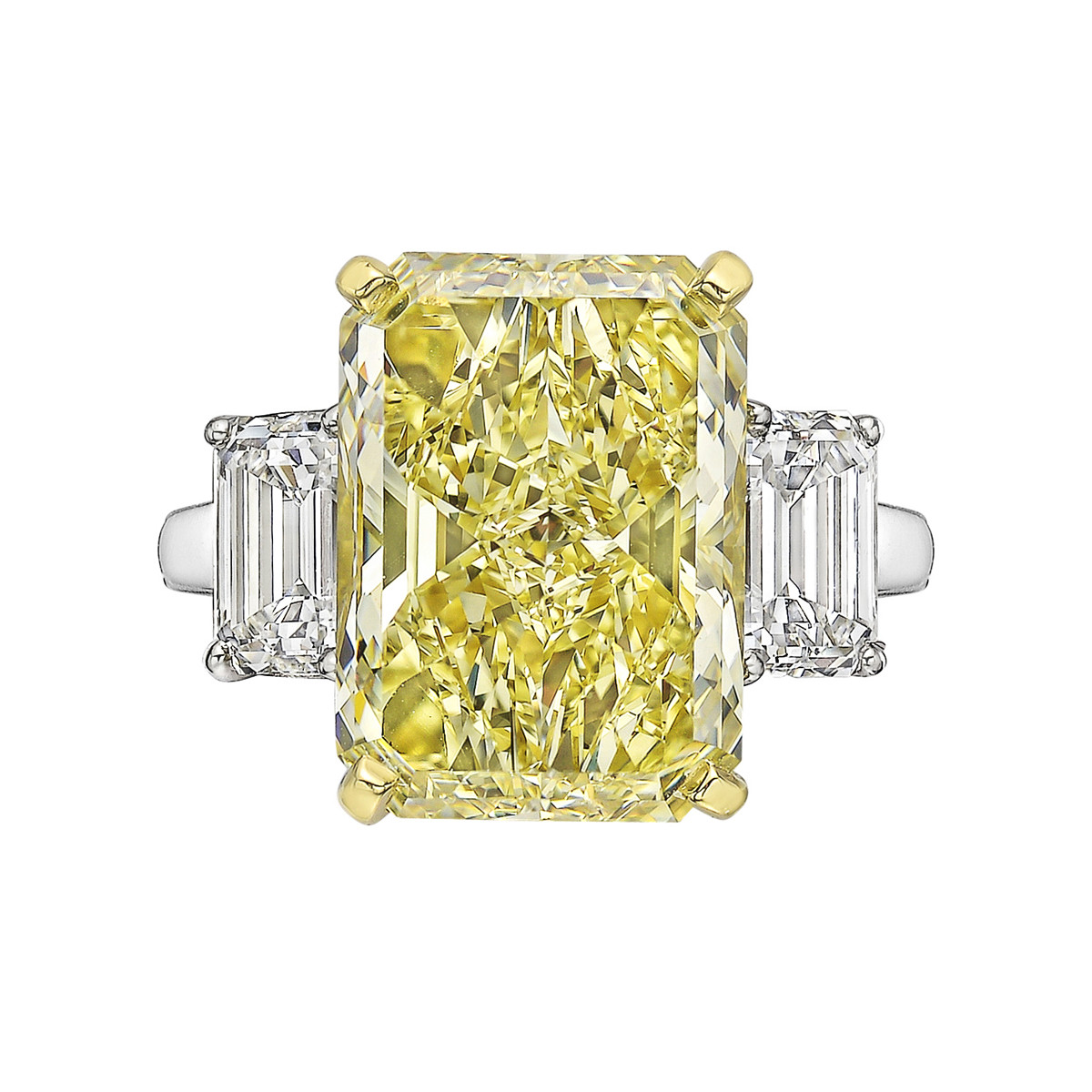 7.57ct Fancy Brownish Yellow Diamond Ring (VS1)