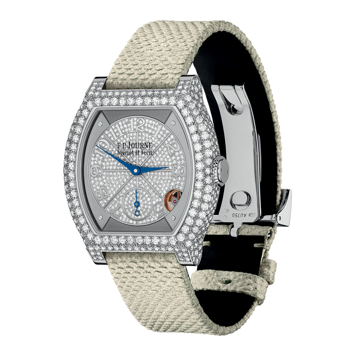 Elegante 40mm Platinum & Diamonds