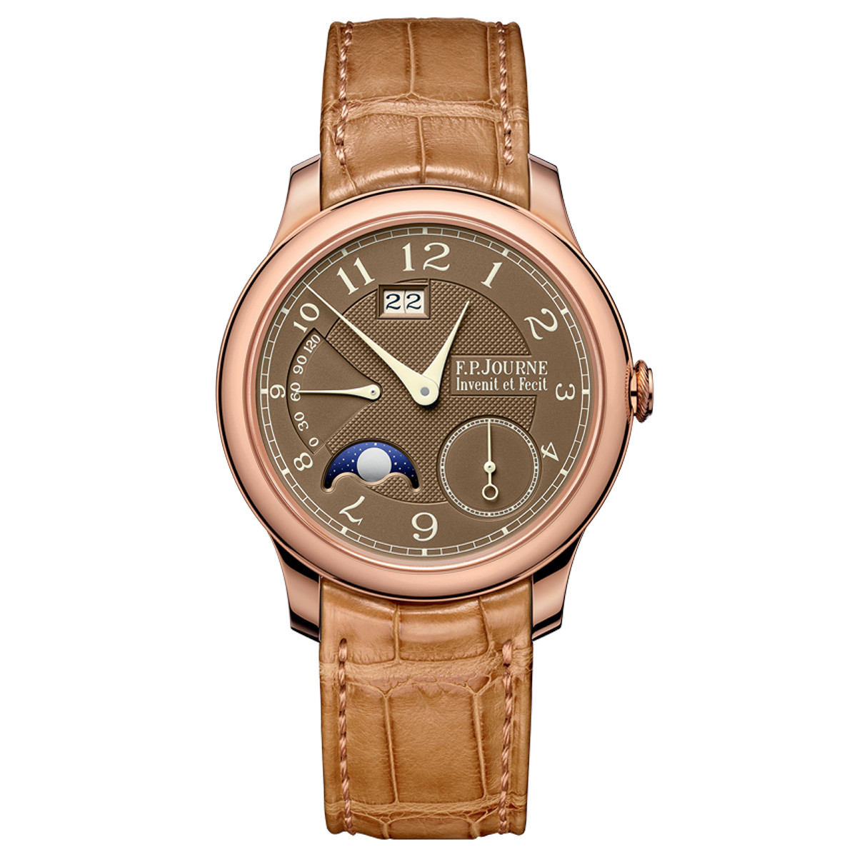 Octa Automatique Lune Havana Rose Gold