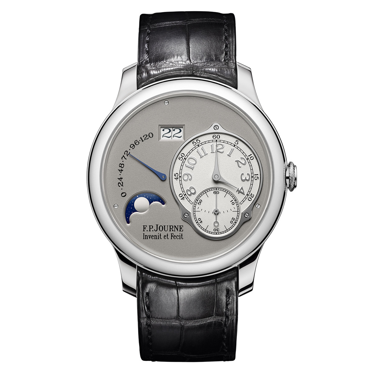 Octa Lune 40mm Platinum