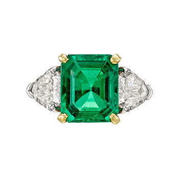 Fred Leighton Emerald Ring