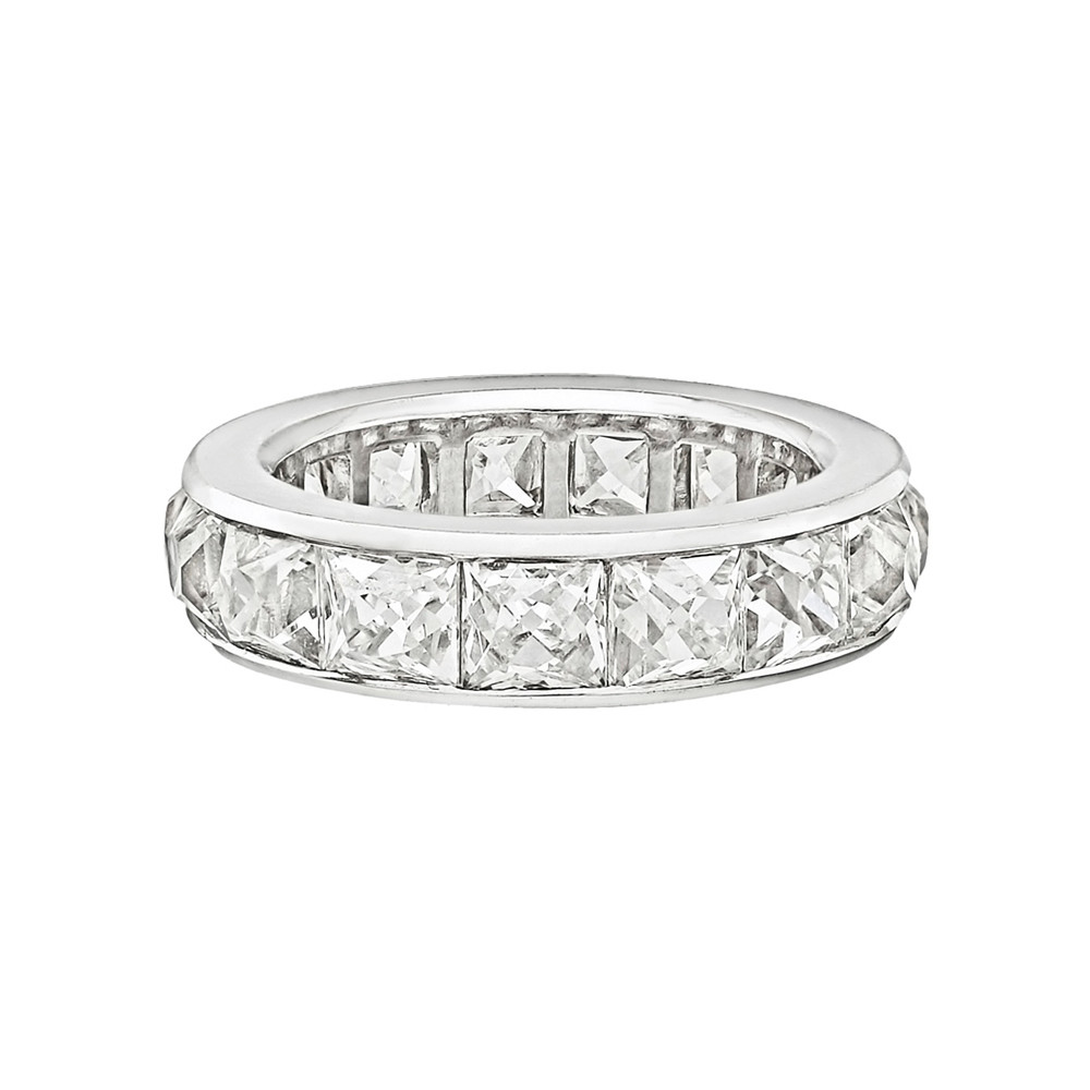Channel Set French Cut Diamond Eternity Band Betteridge