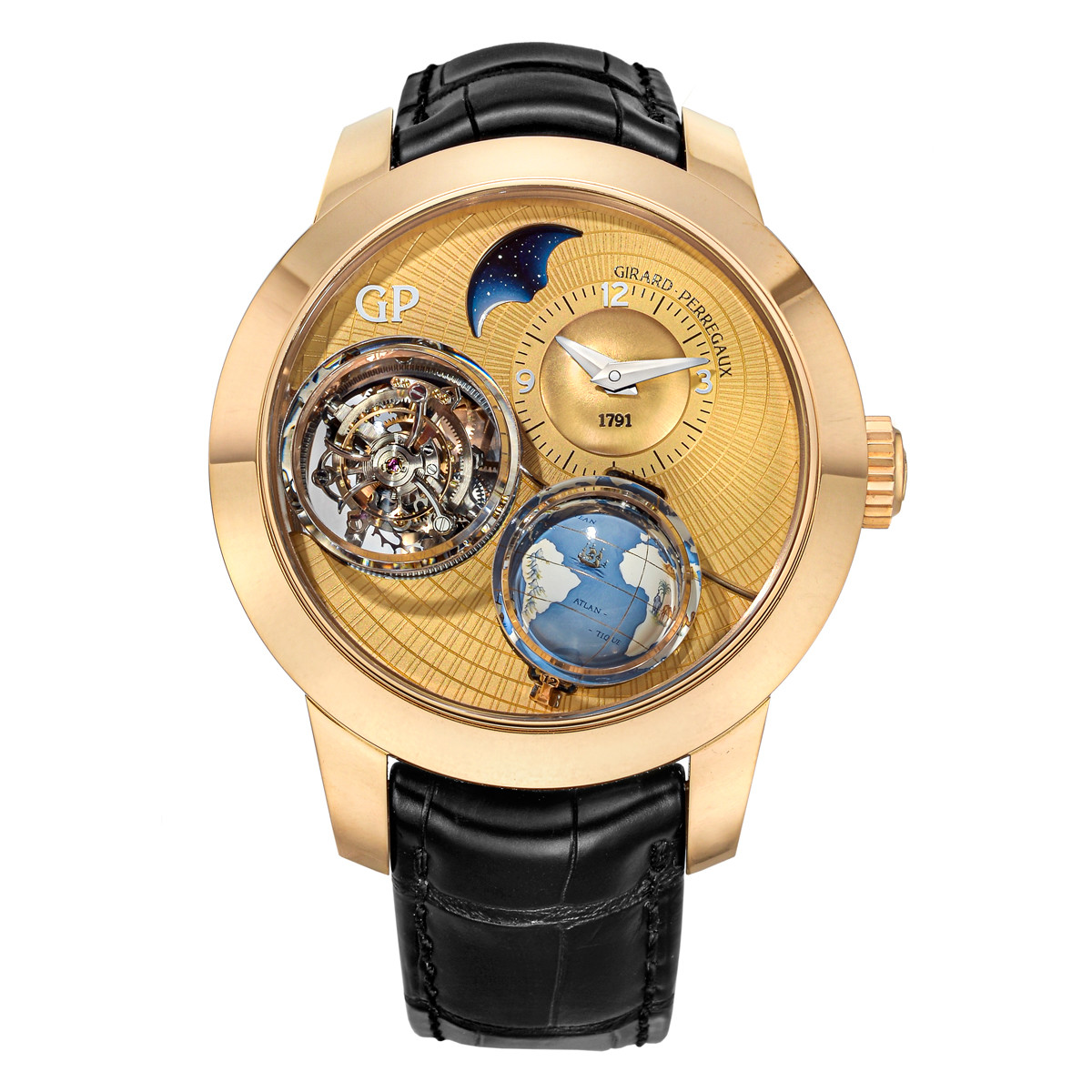 Planetarium Tri-Axial Tourbillon Rose Gold