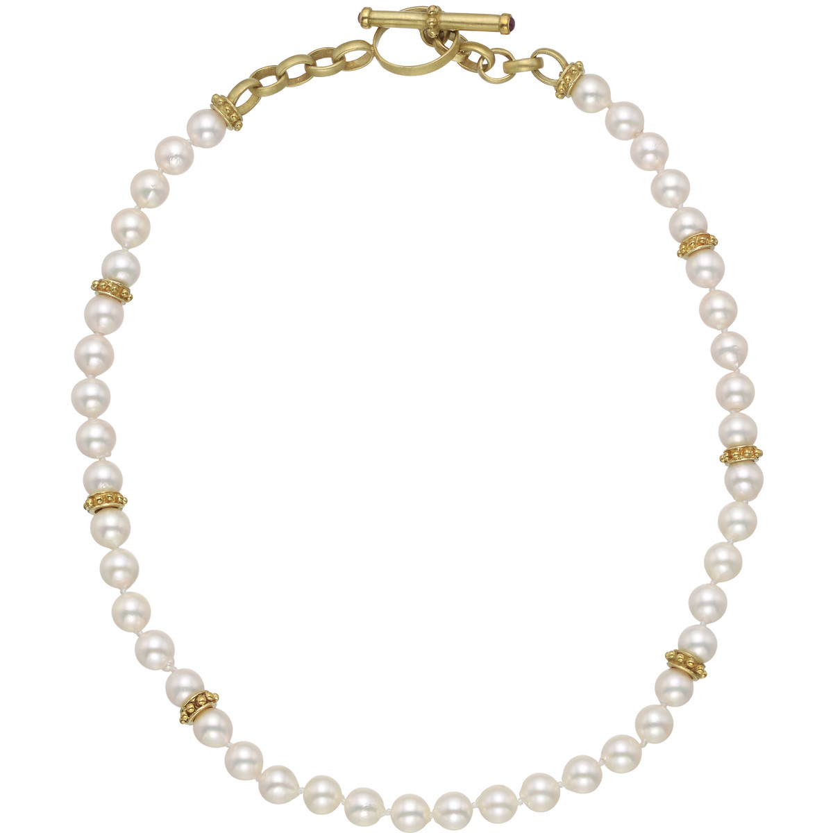 14k Gold & Cultured Pearl Necklace