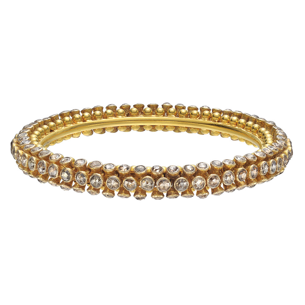 "Brown Diamond ""Sputnik"" Bangle"