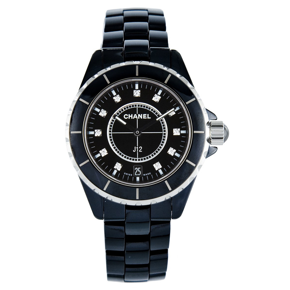 J12 38mm Black Ceramic (H2124)