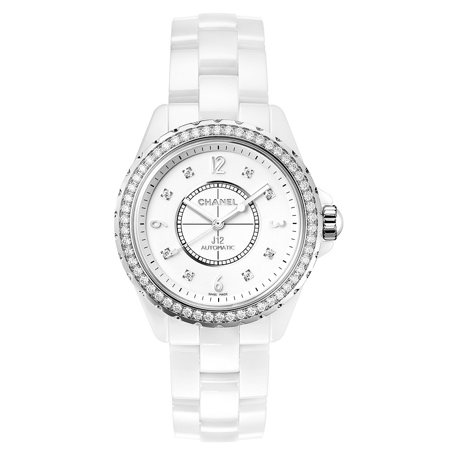 J12 38mm White Ceramic (H3111)