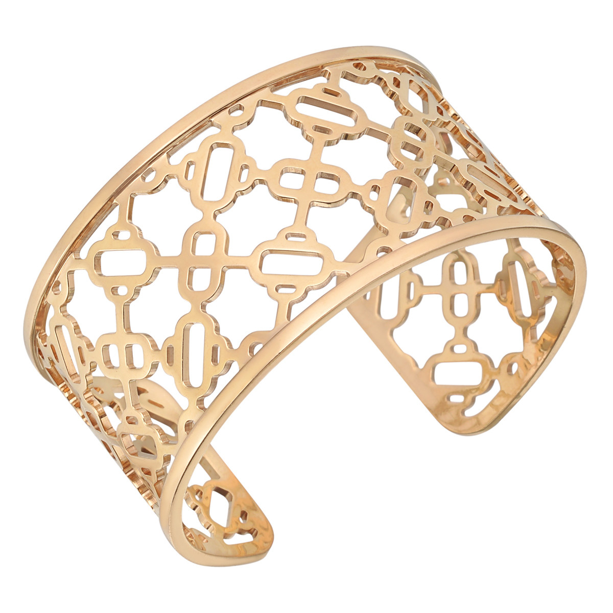 "18k Rose Gold ""Chaine d'Ancre Passerelle"" Cuff"