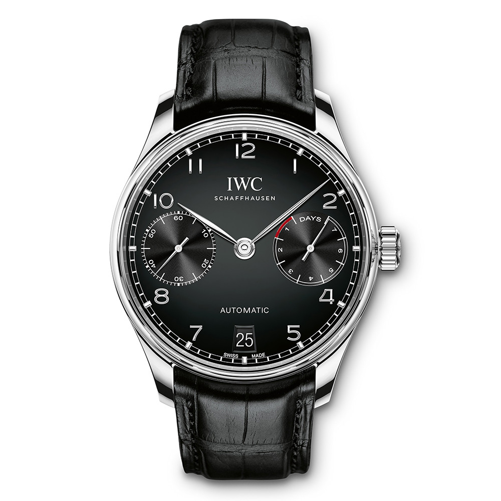 Portugieser Automatic Steel (IW500703)