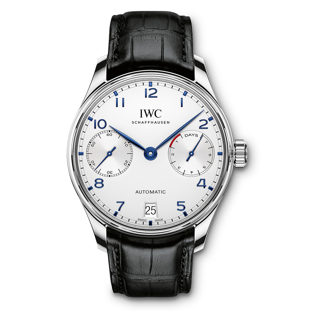 Portugieser Automatic Steel (IW500705)