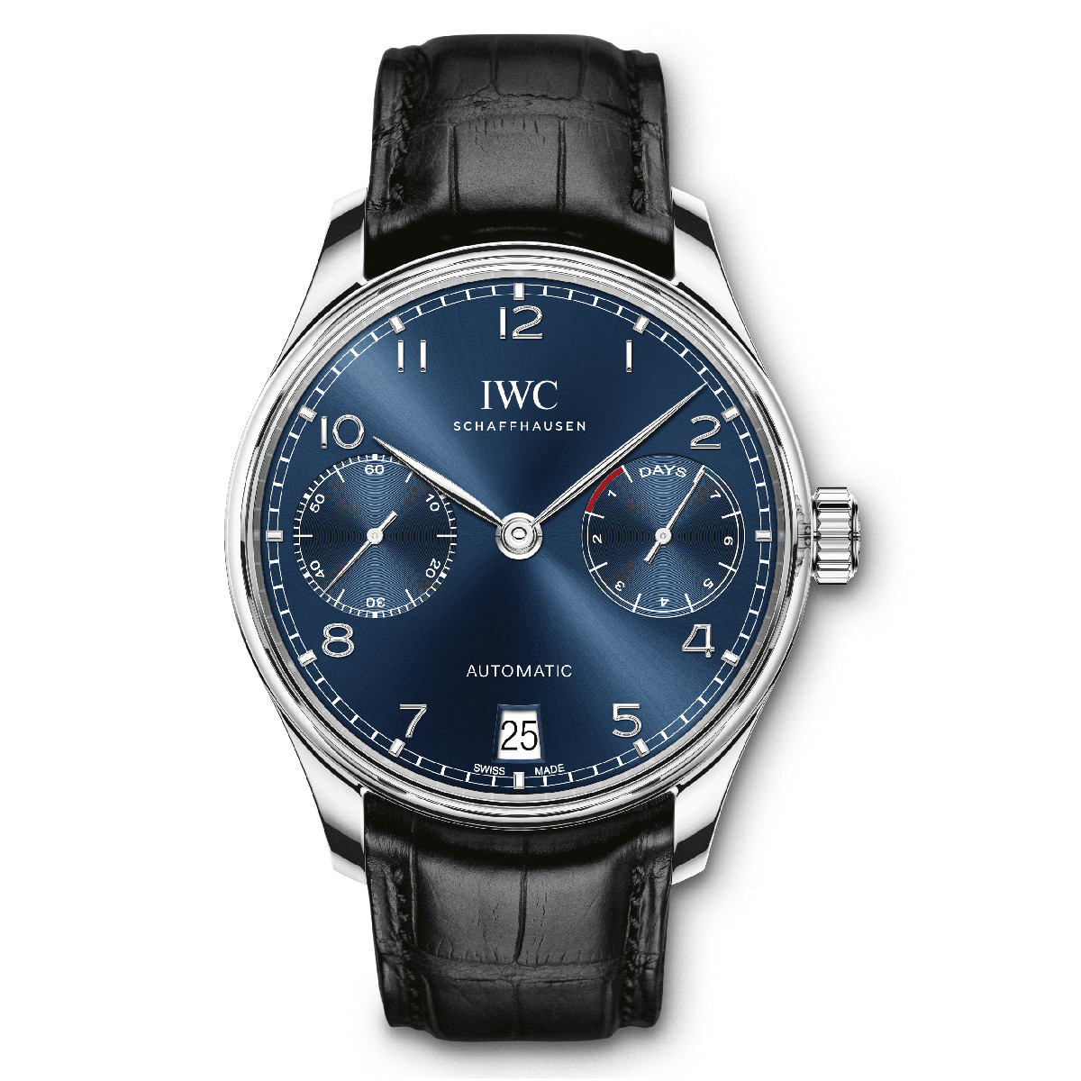 Portugieser Automatic Steel (IW500710)