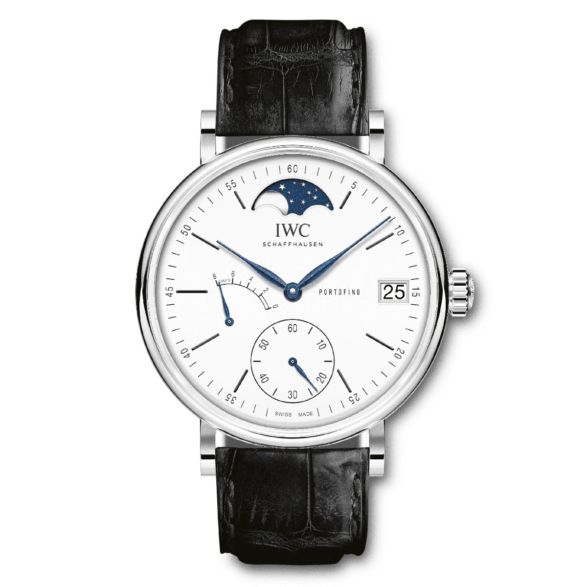 "Portofino Hand-Wound Moon Phase ""150 Years"" (IW516406)"
