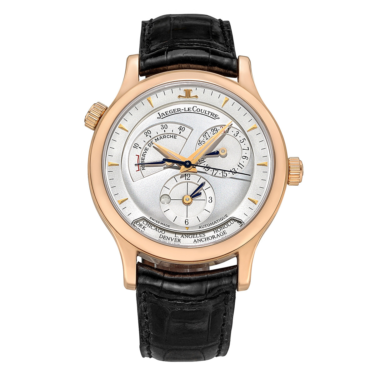 Master Geographic Rose Gold (142.2.92)
