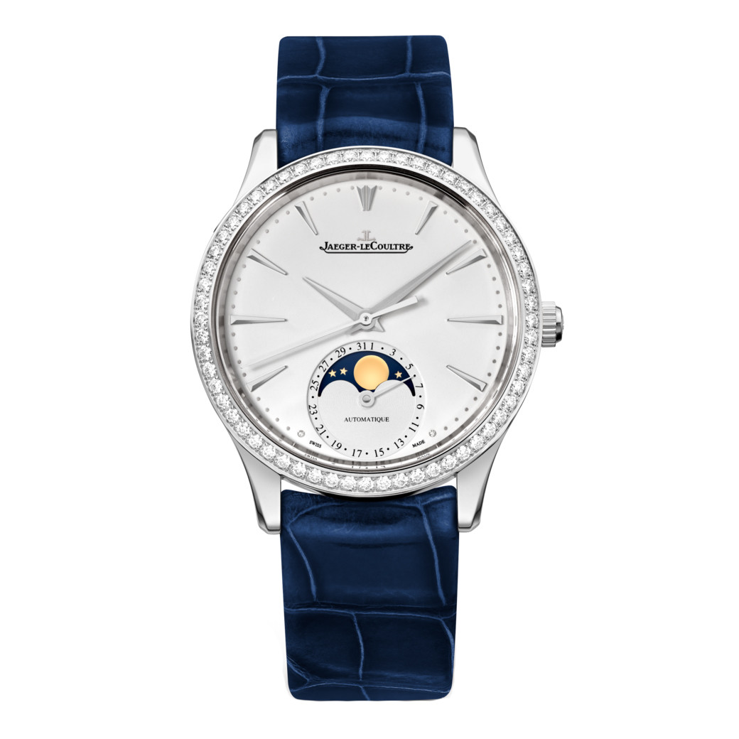 Master Ultra Thin Moon Steel & Diamonds (1258401)
