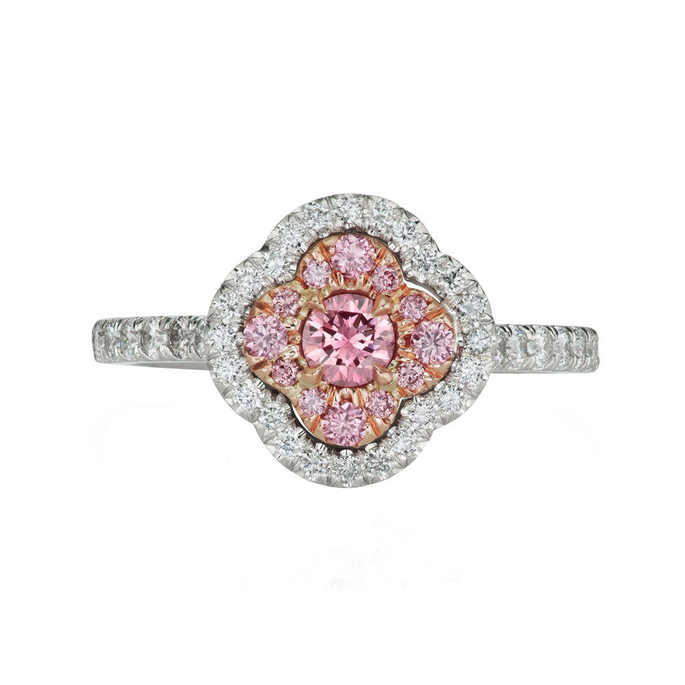 "Argyle Pink Diamond ""Azalea"" Ring"