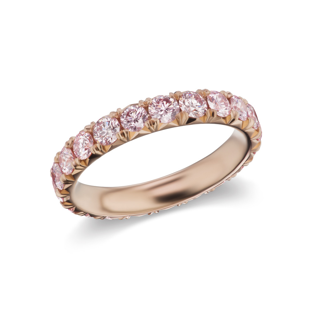 Pink Diamond Eternity Band Ring (1.77ct tw)