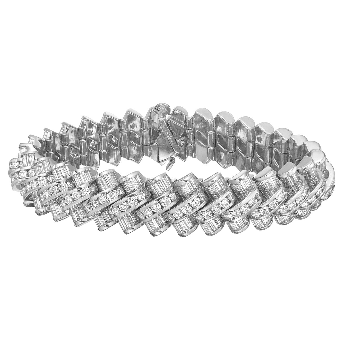 Krypell 18k White Gold & Diamond Bracelet