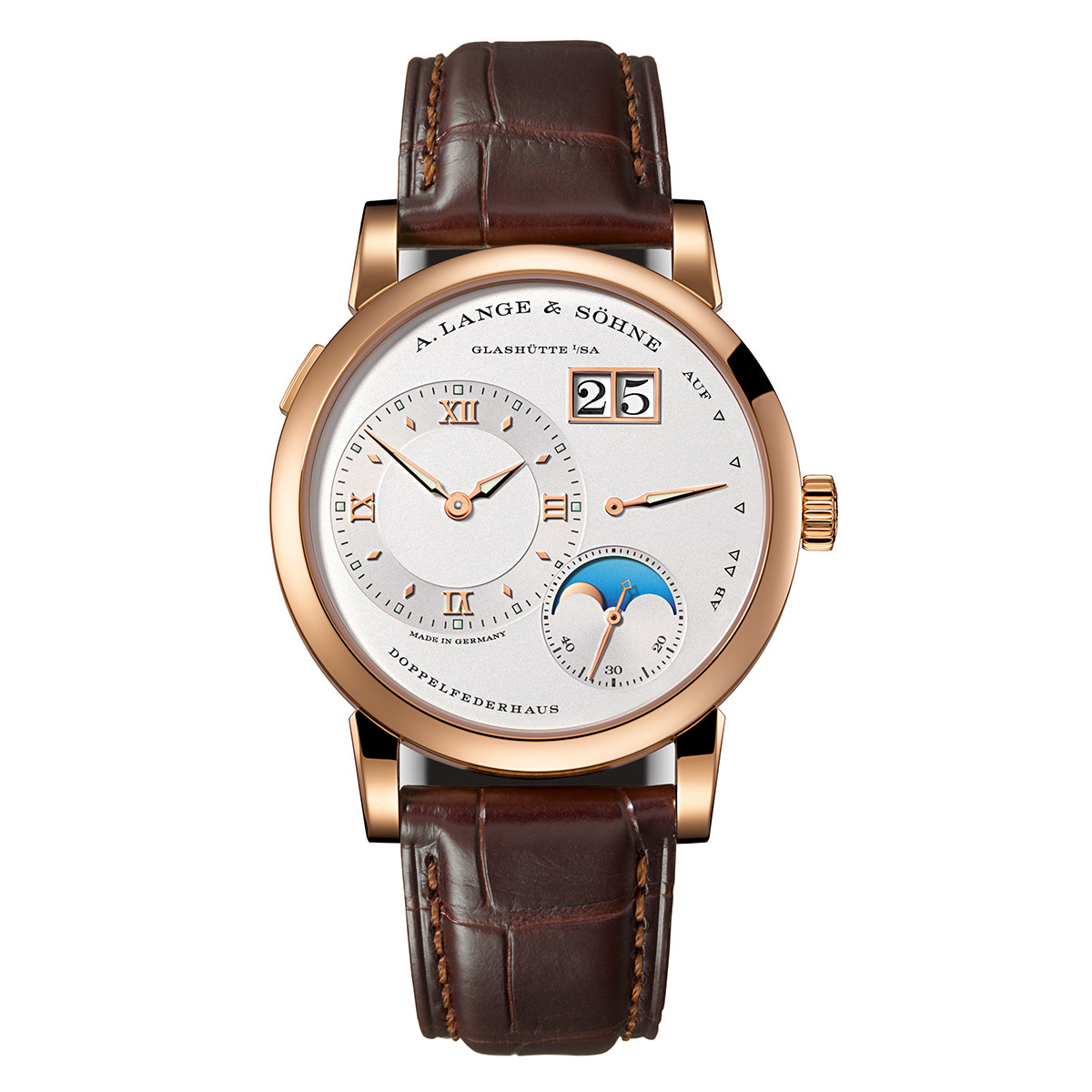 Lange 1 Moon Phase Rose Gold (192.032)