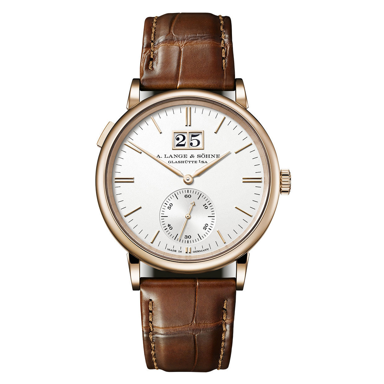 Saxonia Outsize Date Rose Gold (381.032)