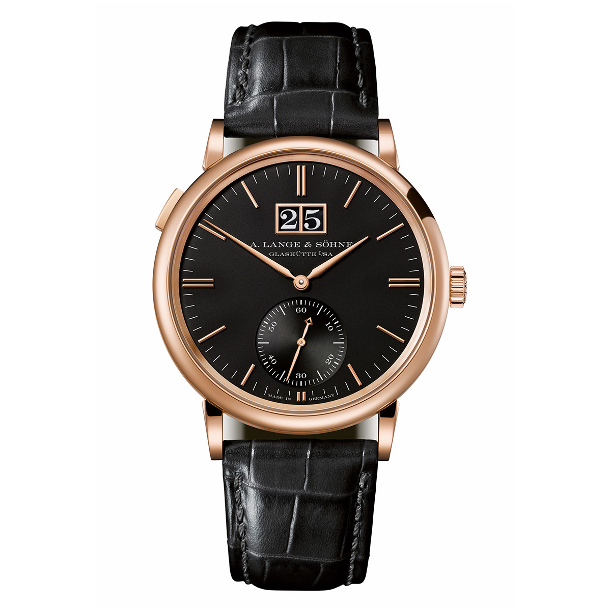 Saxonia Outsize Date Rose Gold (381.031)