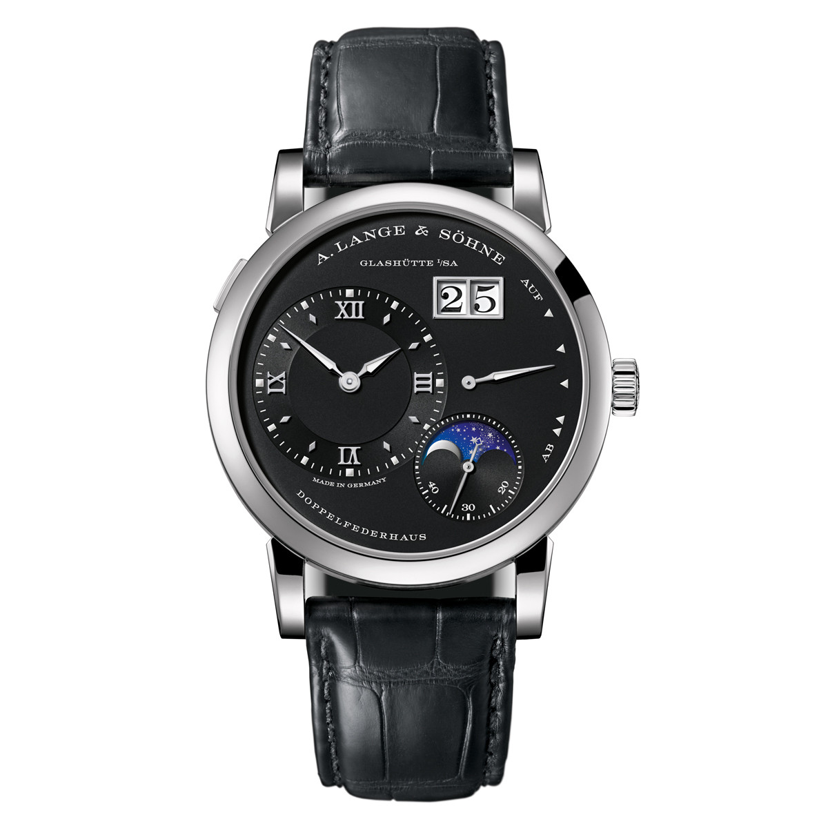 Lange 1 Moon Phase White Gold (192.029)