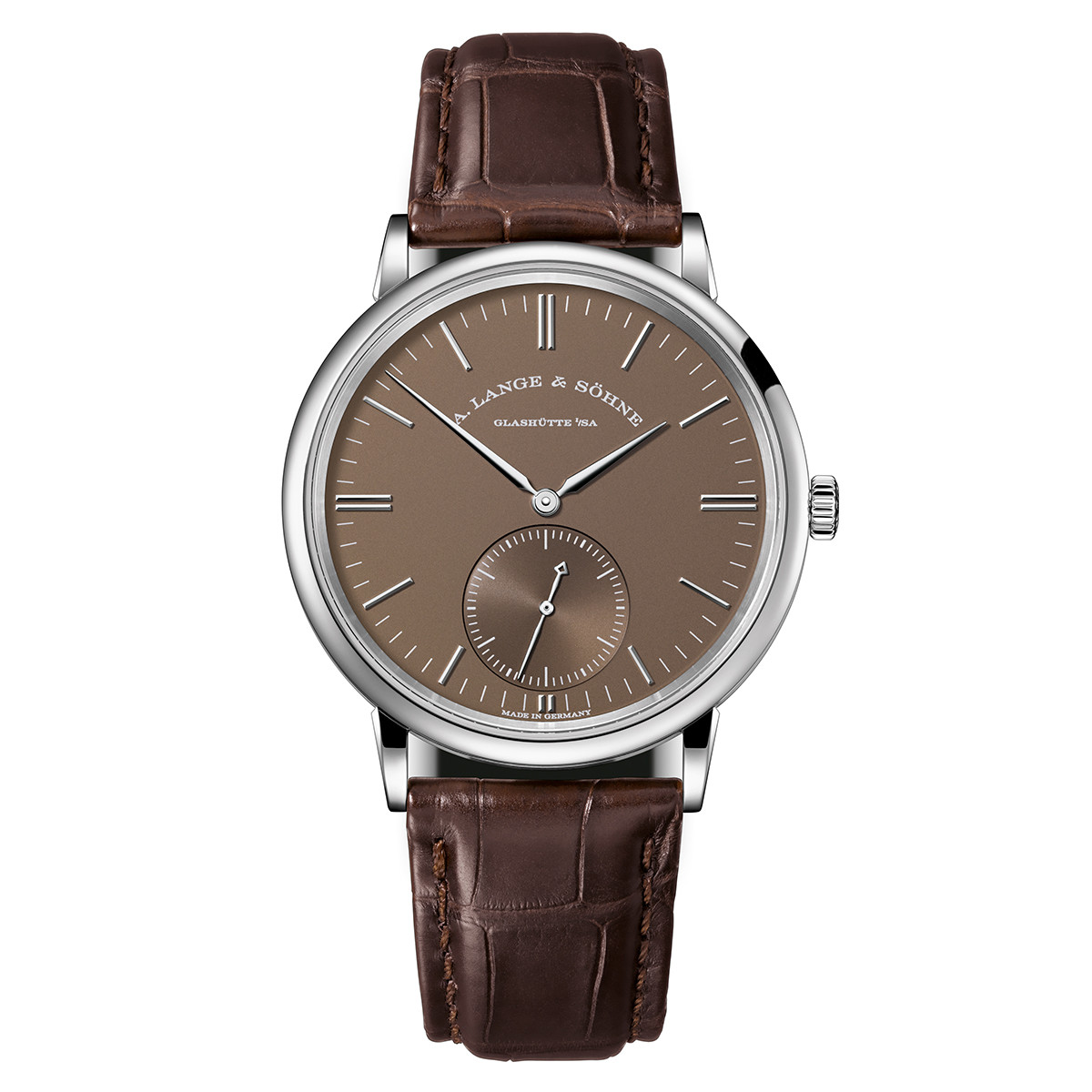 Saxonia Automatic White Gold (380.044)