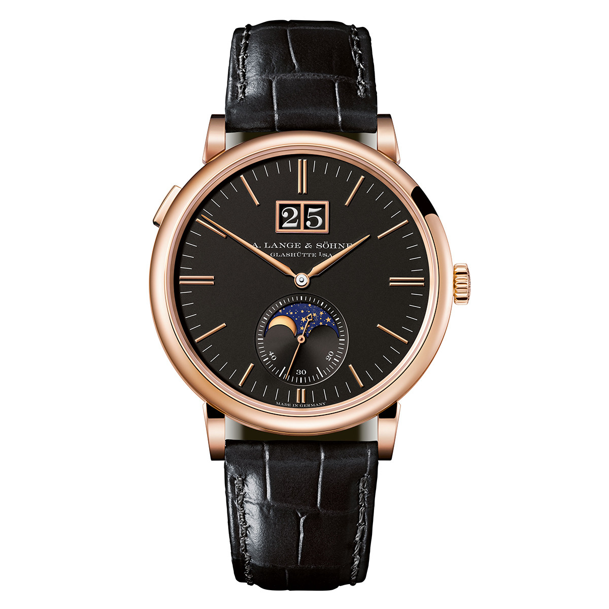 Saxonia Moon Phase Rose Gold (384.031)