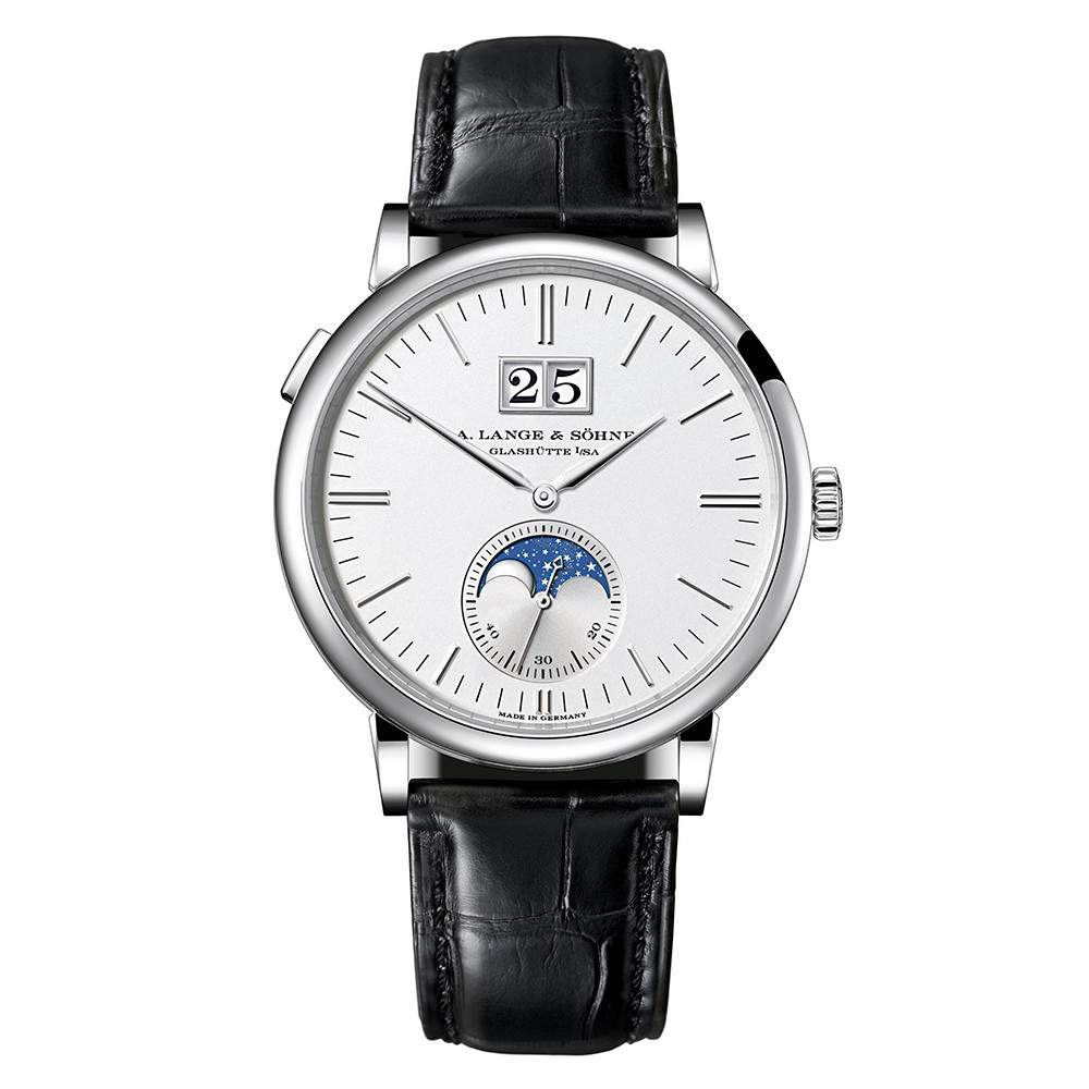 Saxonia Moon Phase White Gold (384.026)