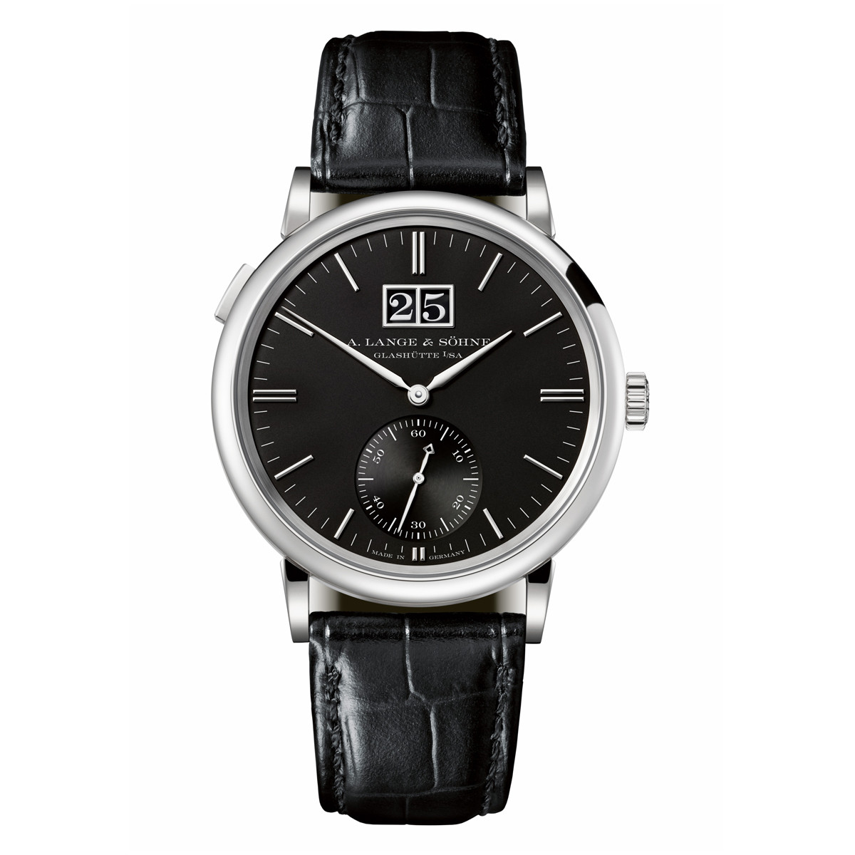 Saxonia Outsize Date White Gold (381.029)