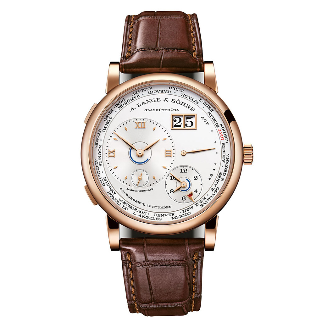 Lange 1 Time Zone Rose Gold (136.032)