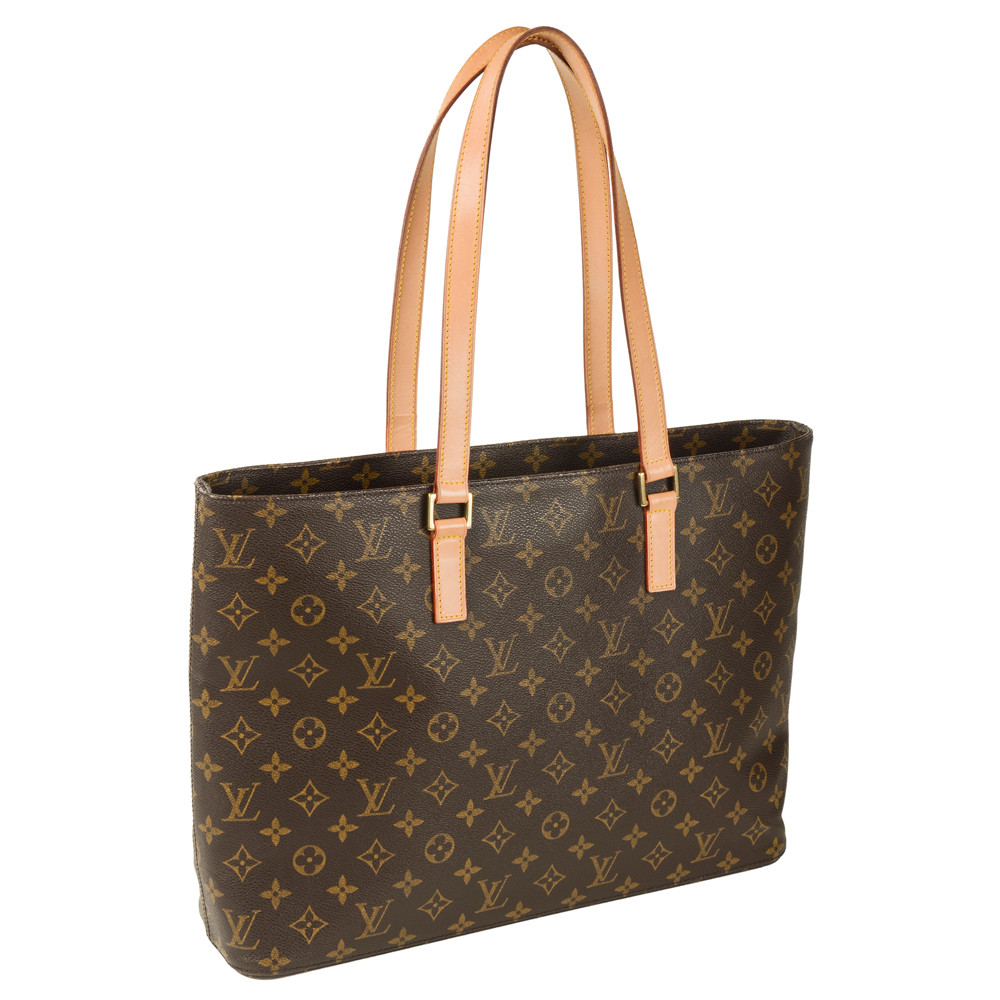 estate louis vuitton large monogram tote with zipper