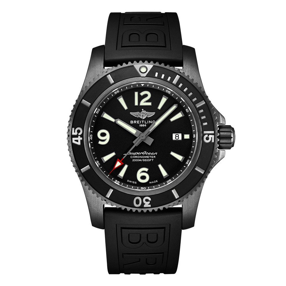 Superocean 46 Black Steel (M17368B71B1S1)