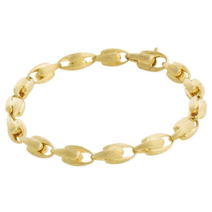 "18k Yellow Gold ""Lucia"" Small Link Bracelet"