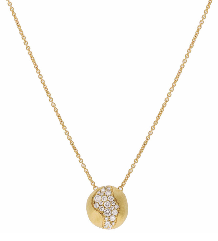 "Medium 18k Gold & Diamond ""Africa Constellation"" Pendant"