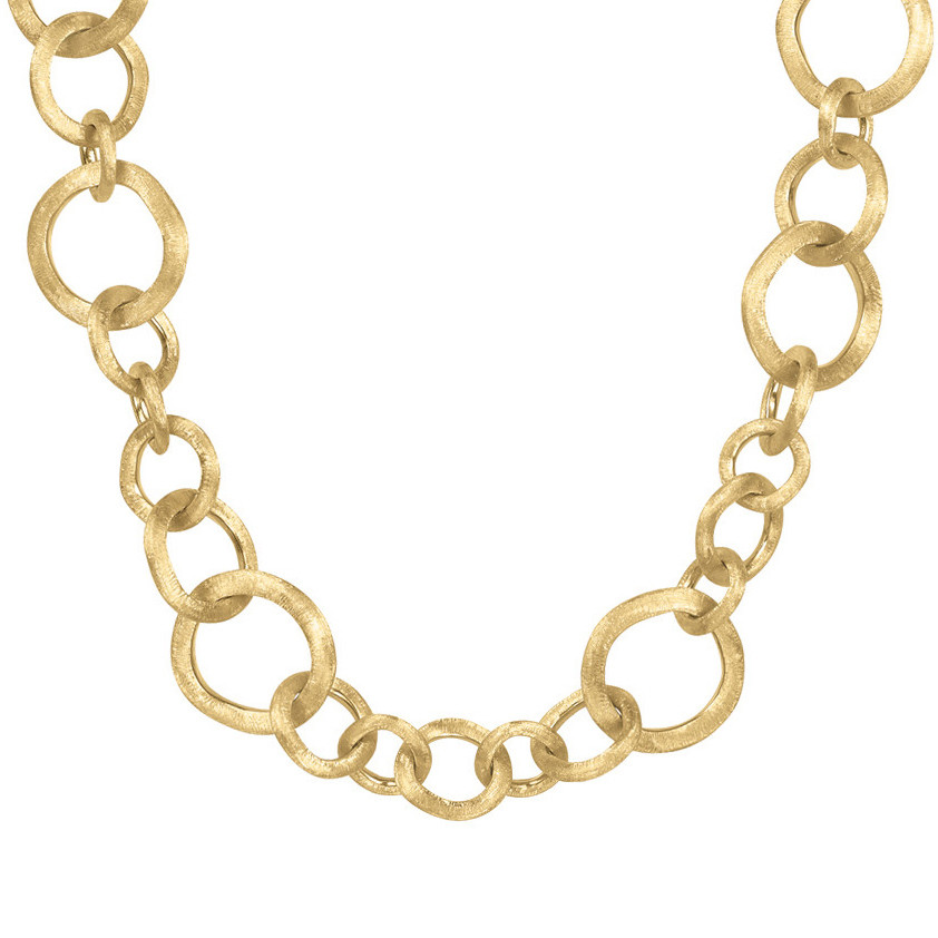 "18k Yellow Gold ""Jaipur"" Link Necklace"