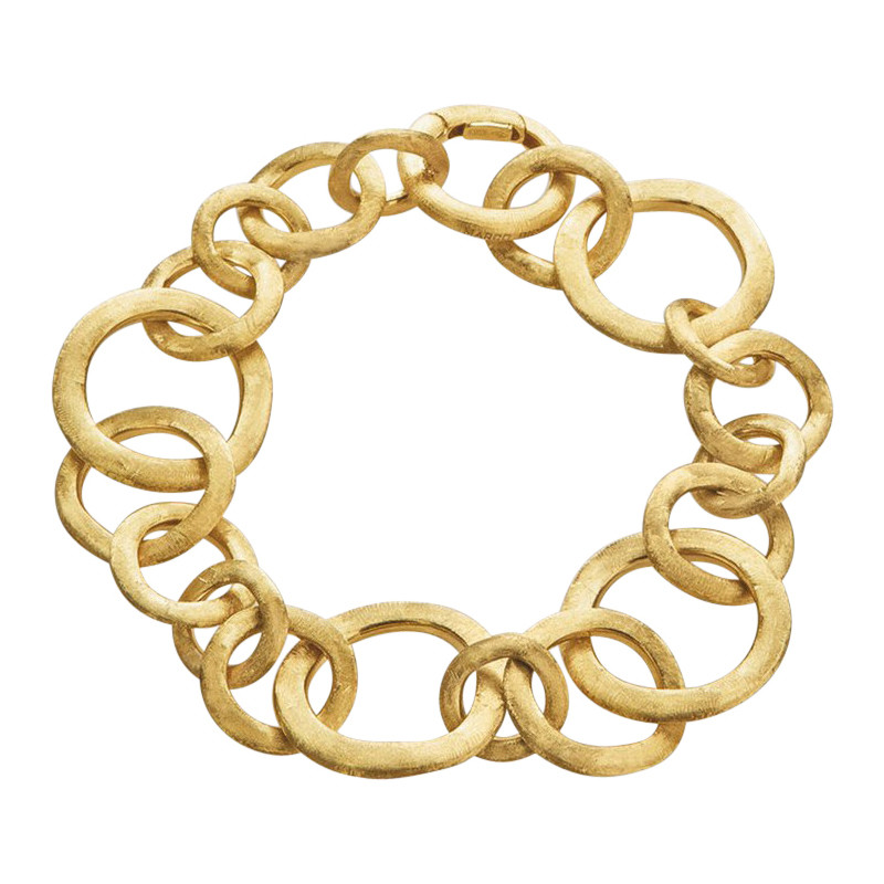"18k Yellow Gold ""Jaipur"" Small Link Bracelet"