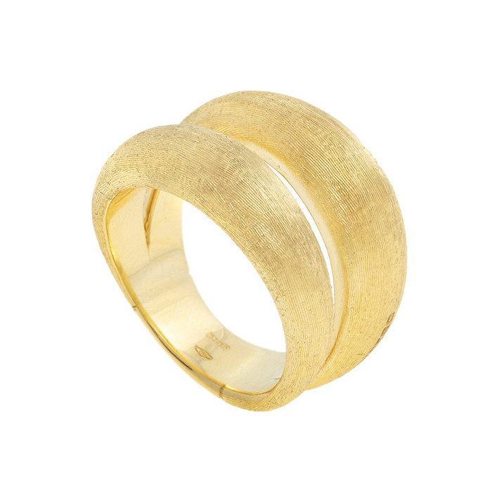 "18k Yellow Gold ""Lucia"" Double Band Ring"